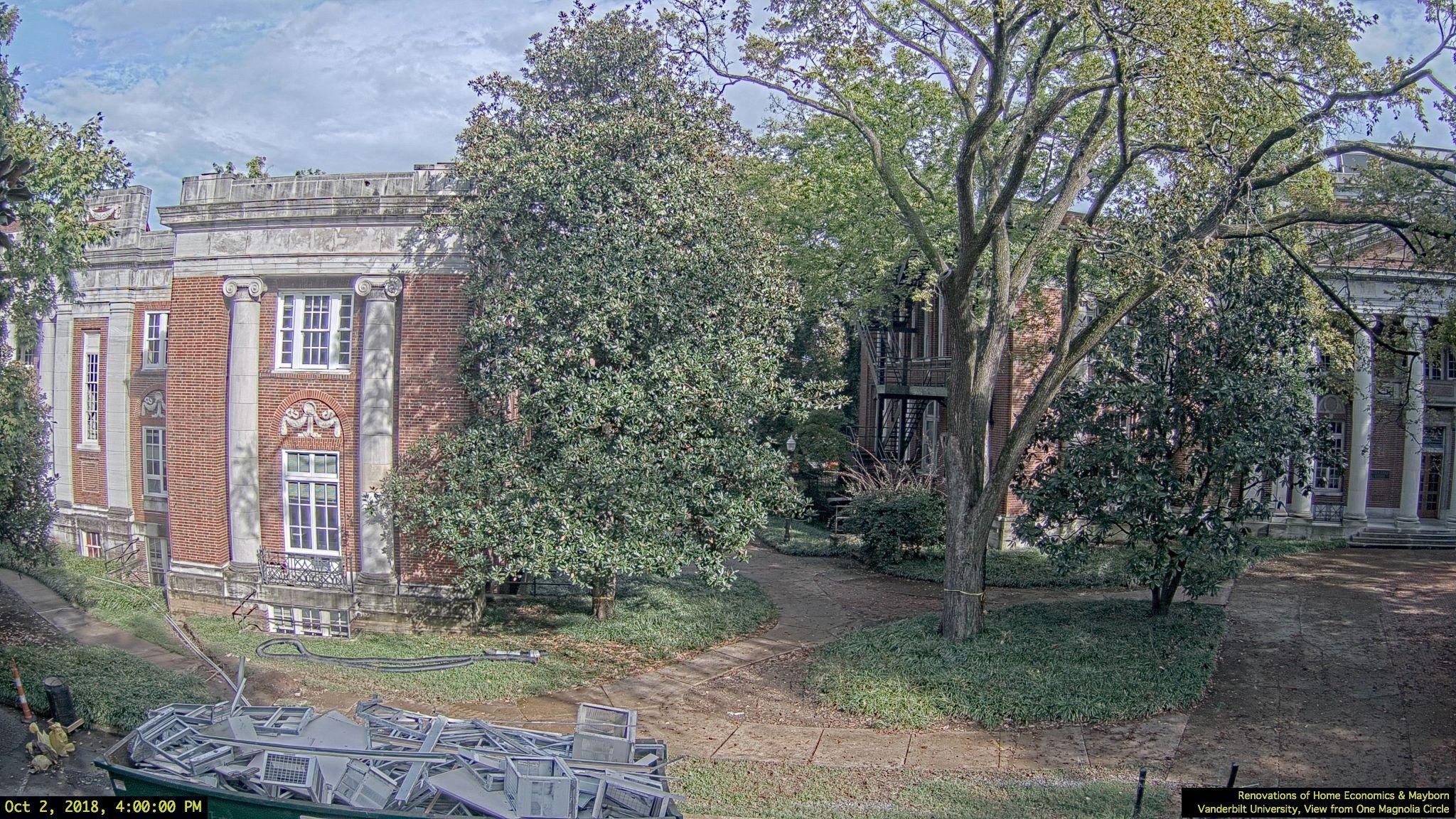 Renovations of Home Economics & Mayborn, Peabody College, Vanderbilt University